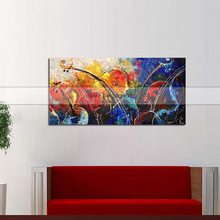 Modern canvas painting Abstract Wall Art modern art hand painted canvas oil paintings home decor new hot sell sunrise цена
