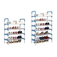 Home Shoe Racks Shoes Organizer Stand Shelf Hallway Door Shoe Storage Shelf Hanger Organizer Living Room Shoebox Home Storage