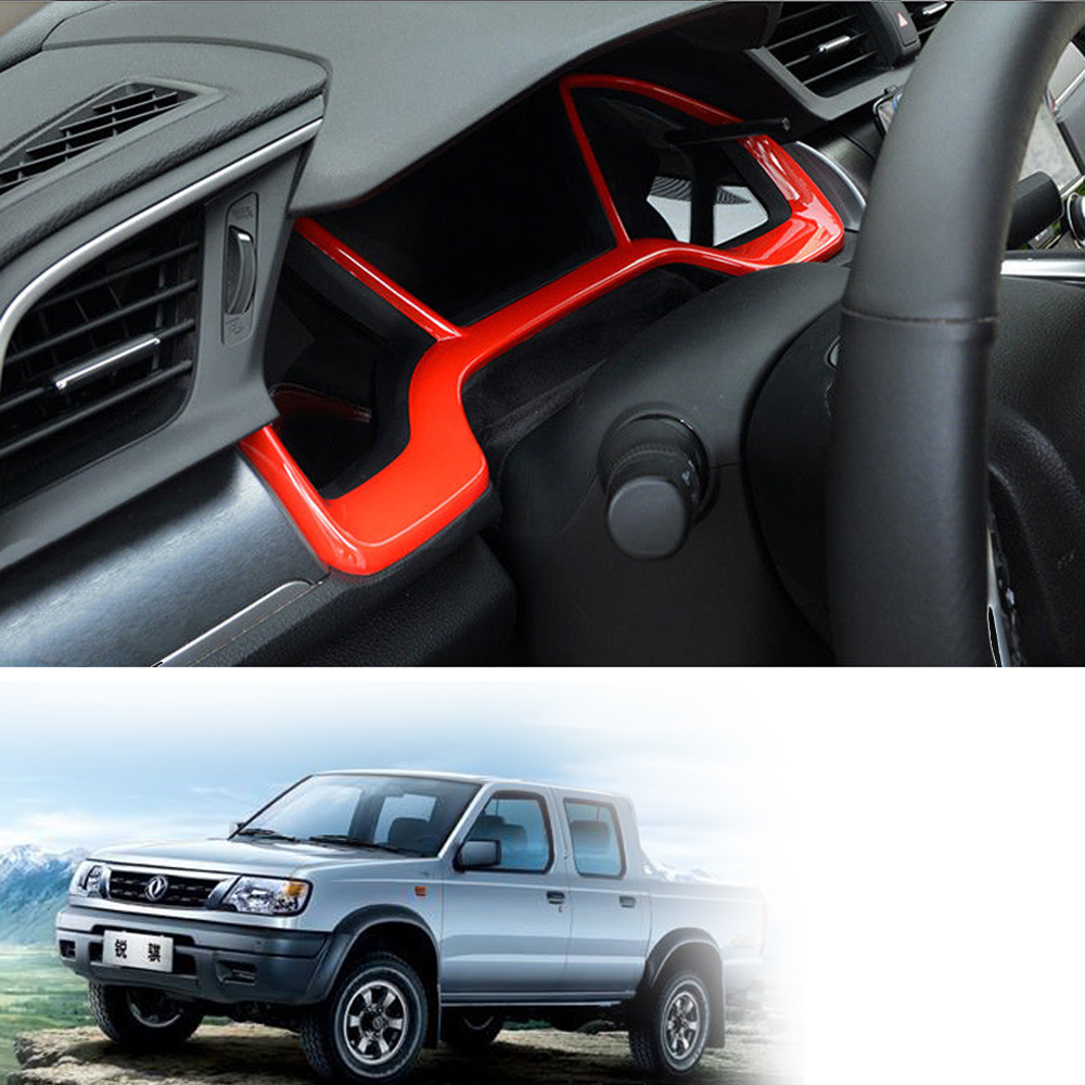 Red Dashboard Decorative Frame for Honda 10th Civic Hatchback Si Coupe Sedan car Cover Trim Dashboard Interior accessories