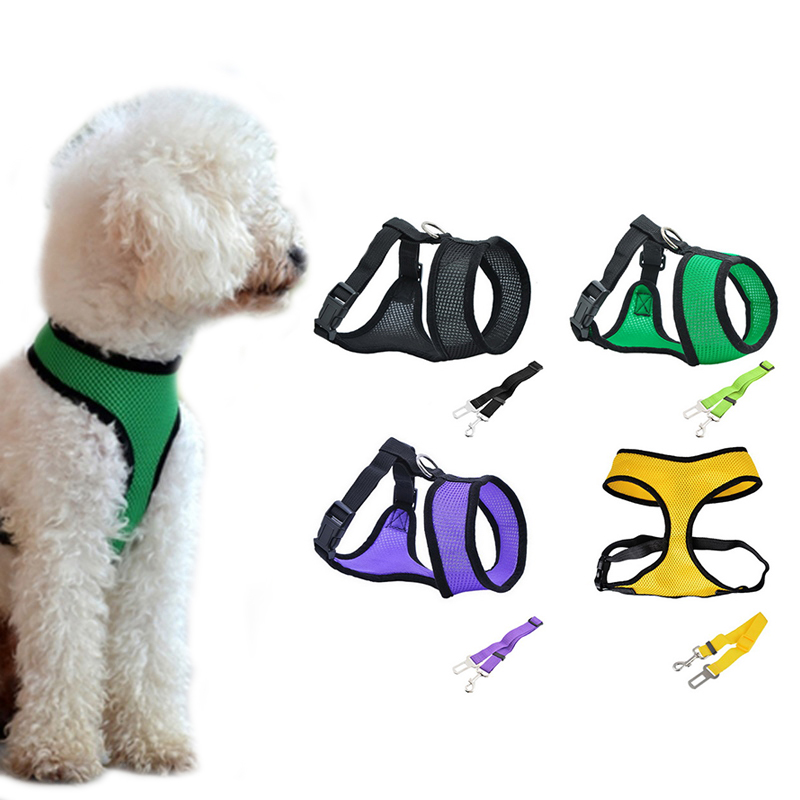 Aliexpress Com   Buy Hoomall Dog Harness Leashes Set Breathable Mesh Soft Nylon Adjustable