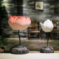 Classical Chinese Lamp Lotus Lamp Living Room Bedroom Art Deco With Free Shipping