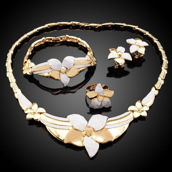Free shipping italian costume jewelry Dubai gold plated jewellery