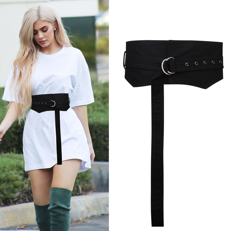 Fashion Wide Slim Body Corset Soft Cloth Knot Belts Joker Decoration Cummerbund Dress Waistbands For Women Apparel Accessories