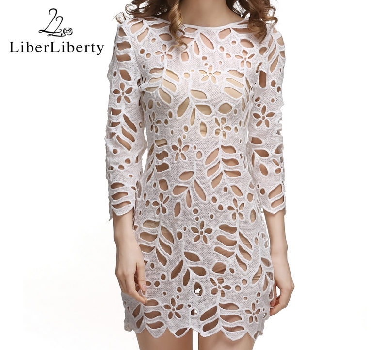 17 Beach Crochet Cover Up for Women Floral Hollow Lace Bikini Cover-Ups Swimwear Women Beach Dress Bathing Suit Cover Ups 13