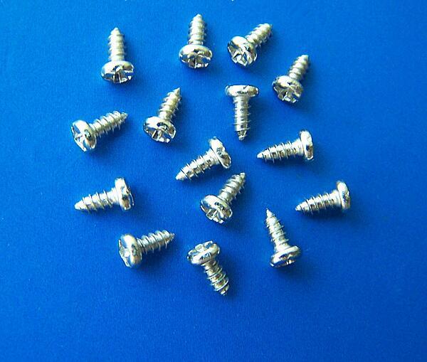 M1.2 M1.4 M1.7 M2 M2.5 M3 M3.5 M4 *2 3 4 5 6 7 8 10 12 14 16 18 20mm round head cross phillips self-tapping screws 3 2 7 12