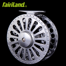 7/8 2BB+1RB fly fishing wheel LEFT/RIGHT hand retrieve PRECISION MACHINED fly reel from BAR-STOCK ALUMINUM w/ INCOMING CLICK