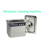 Washing the ultrasonic cleaning machine IC jewelry cleaning 110 v / 220 v 304 stainless steel material ion cleaning machine
