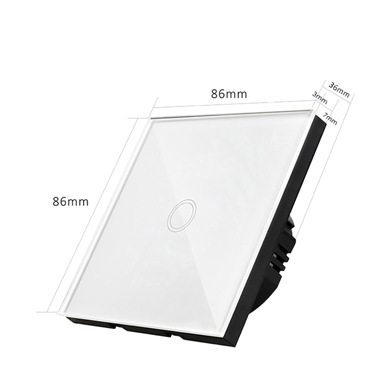 Interruptores e Relés de luz da parede da Function : Wall Light Switch Touch Screen Control