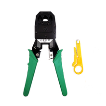 Crimping Cable Cutter Tools Pliers Multifunction Basic Network Cable Maker RJ12 RJ11 cat5 cat6 8p8c Cable Stripper все цены