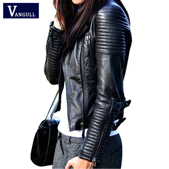 Aliexpress.com : Buy Bomber Leather Jackets 2016 New fashion women ...
