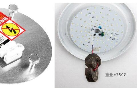 led plate ceiling light