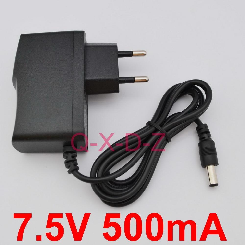 1 шт., адаптер для преобразователя, 7,5 в, 100 мА, 240-7,5 В переменного тока