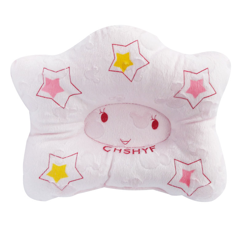 Ideacherry 3-24M Newborn Baby Pillow Flat Head Sleeping Positioner Support Cushion Prevent Bebe Pentagram Styling Babies Pillows