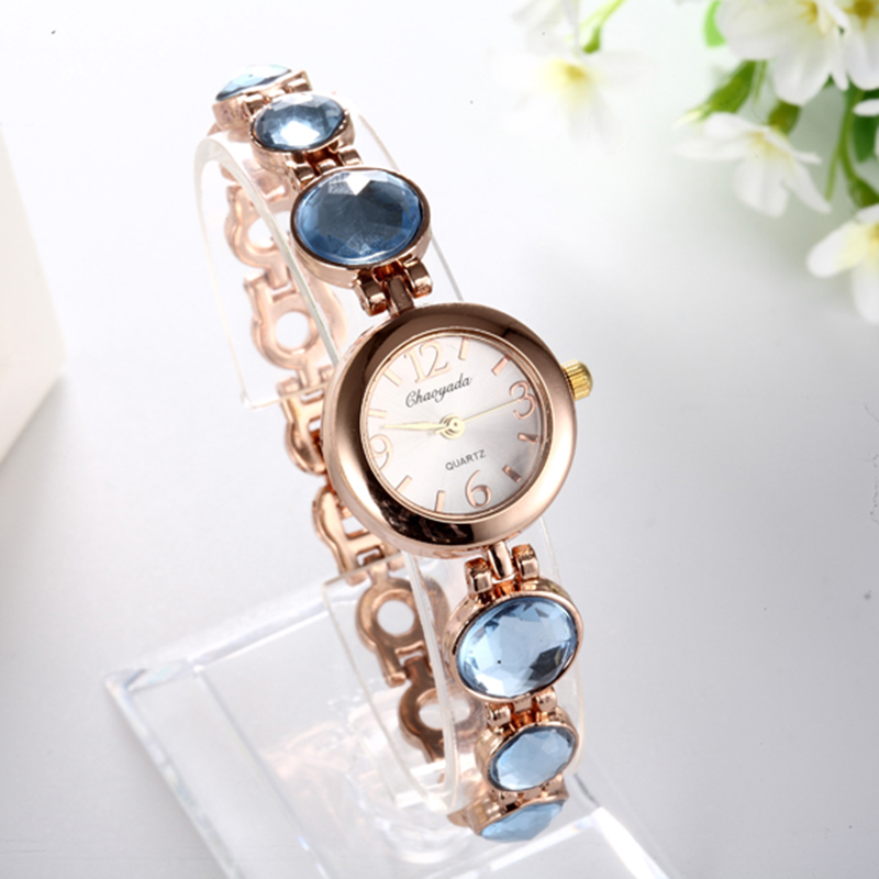 Women Fashion Luxury Watches Gem Bracelet CHAOYADA Dress Quartz Watches Ladies Wristwatches Quartz watch relogio feminino