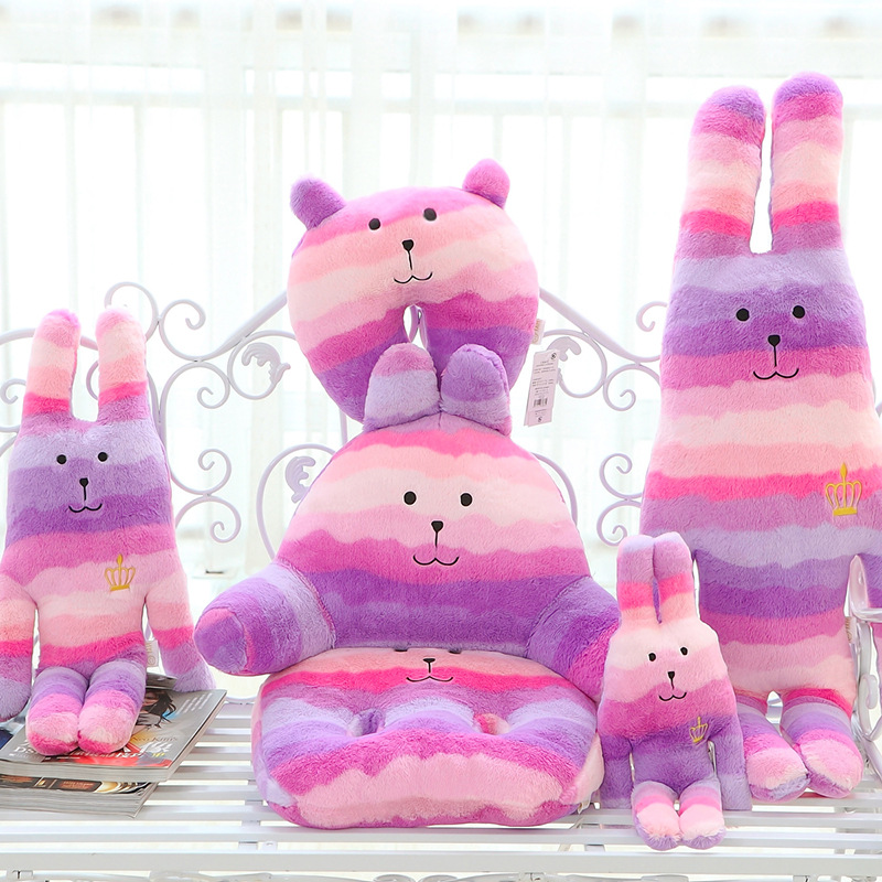 New arrival Craftholic Toys 40cm 60CM mini cute soft animal doll Plush mini rabbit toy gift Japan Craftholic gift Christmas 60cm new queen couple rabbit plush toy of peter rabbit doll wearing glasses rabbit doll valentine s day gift