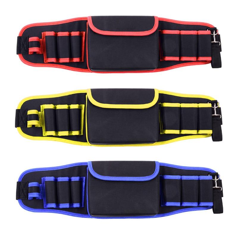2019 New Multi-pocket Handyman Tool Belts Electrician Waist Bags Construction Working Apron