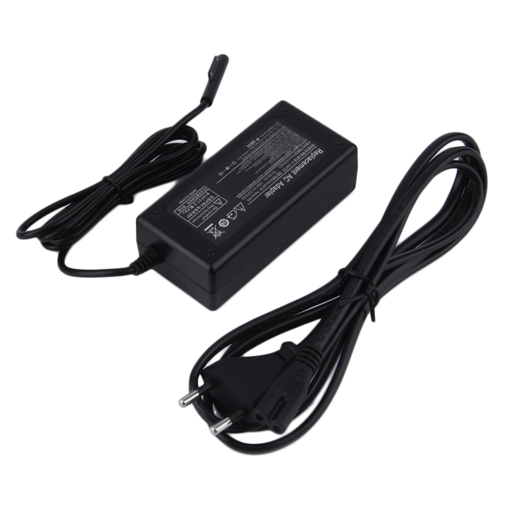 new 12v 36w eu us plug ac wall charger adapter power supply for microsoft windows surface