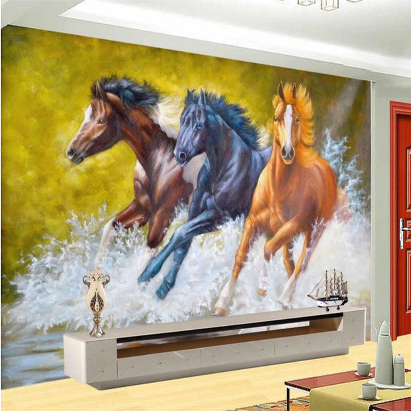 Beibehang Large Wallpaper Mural Custom Any Size Three