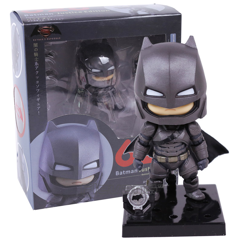 Batman v Superman Dawn of Justice Batman Justice Edition #628 Nendoroid PVC Action Figure Collectible Model Toy Doll shf figuarts superman in justice ver pvc action figure collectible model toy