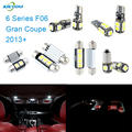 XIEYOU 10pcs LED Canbus Interior Lights Kit Package For 6 Series F06 Gran Coupe (2013+)
