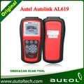 100% Original Autel Scanner AutoLink AL619 OBDII CAN ABS SRS Airbag Reset DTC Scan Tool Update Online