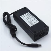 12Vdc led قطاع 5.5*2.5 ، 5.5*2.1 محول الطاقة ، 120 واط led إمداد طاقة الإضاءة 12 فولت 10A ، 100 240Vac المدخلات FCC CE المدرجة محول