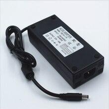 12Vdc led strip 5.5*2.5, 5.5*2.1 bộ chuyển đổi điện, 120 wát led ánh sáng cung cấp điện 12 v 10A, 100 240Vac đầu vào FCC CE được liệt kê biến áp