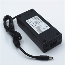 12Vdc led strip 5.5*2.5, 5.5*2.1 power adapter, 120 w led licht voeding 12 v 10A, 100 240Vac input FCC CE vermeld transformator