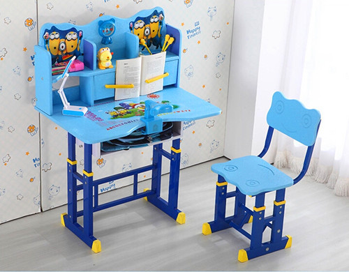 High Quality Factory Direct 1 Sets Children Kids Wooden Study Table ...