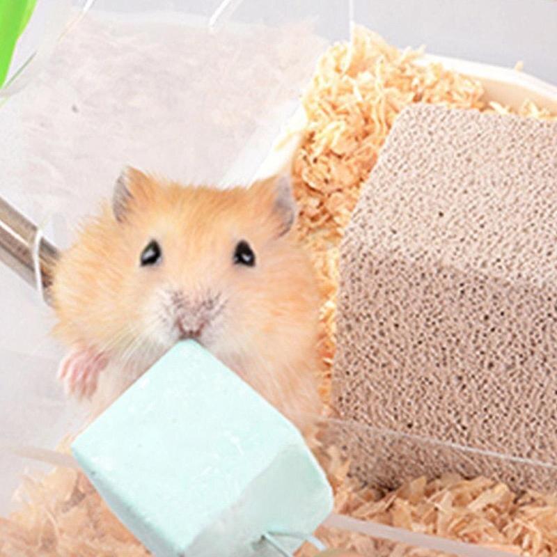 Pet Animal Supplies Minerals Molar Stone Pet Molar Stone Chew Toys For Chinchilla Hamster Rabbit