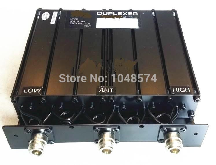 Free shipping repeater 50W <font><b>450MHz</b></font> 6 Cavity UHF Duplexer 5MHz spacing N female connector image
