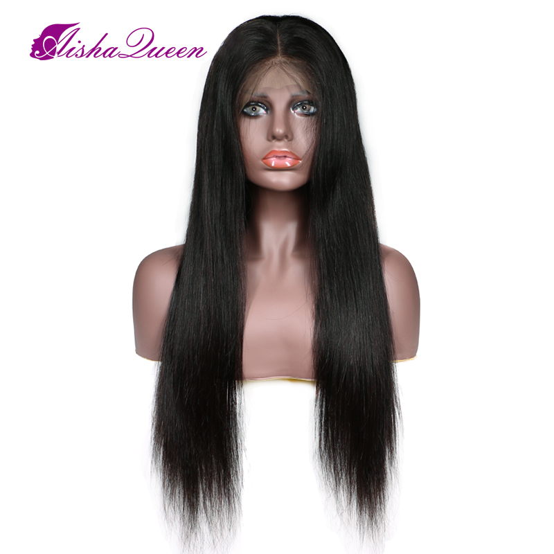 middle part straight wig (3)