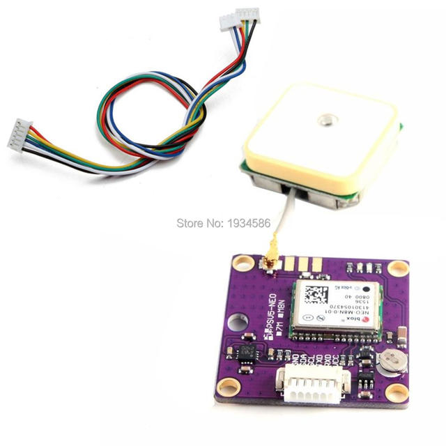 US $20 62  GPSV5 UBLOX NEO M8N 0 01 NEO M8N HMC5983 With Data EEPROM Backup  APM GPS Module electronic Compass Aircraft Flight Controller-in