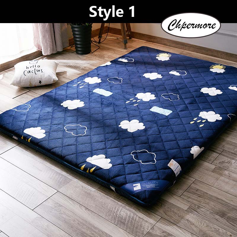 Chpermore Tatami Thickening Keep Warm Mattress Single Double Foldable Mattresses Bedspreads King Queen Twin Size