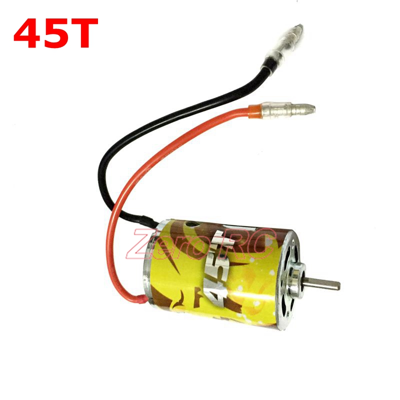 Image 3 - 1/10 CROSS RC 540 Brush Electric Motor With Line 27T 35T 45T 55T For Scx10 RC4 Crawler RC-in Parts & Accessories from Toys & Hobbies