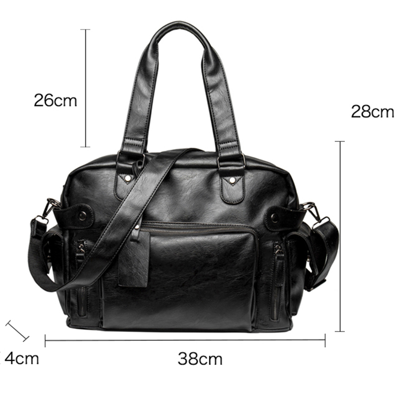 WEIXIER Brand Business Classic Original PU leather men shoulder messenger 2019 male briefcase man bag for  computer male bag