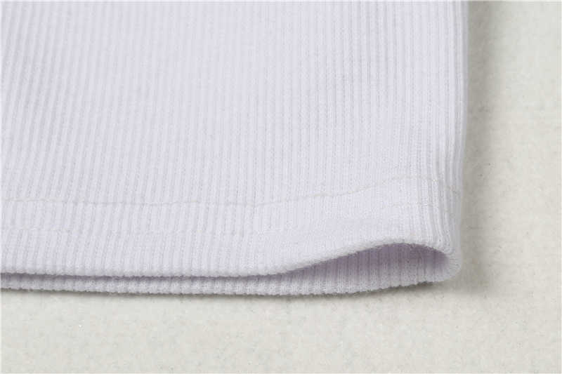 女性レディース夏ニット半袖ボタンシャツ作物トップストップス