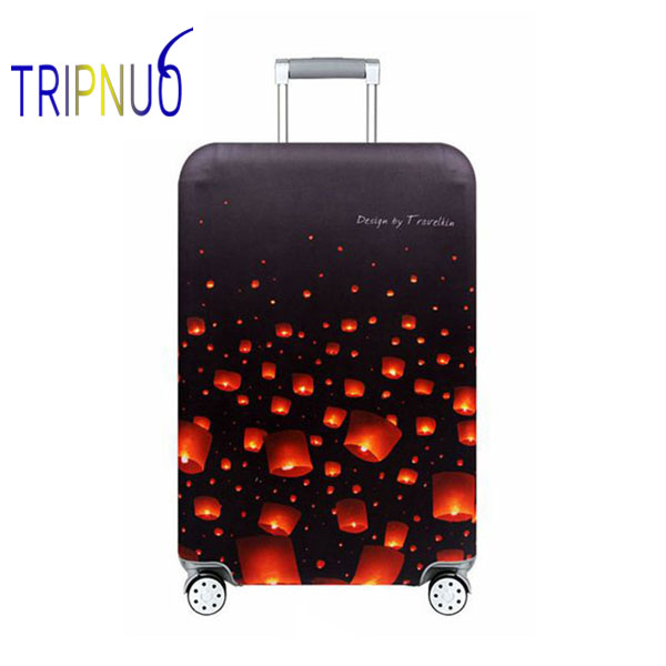 TRIPNUO Lantern Travel Luggage Suitcase Protective Cover For Trunk Case Apply To 19''-32'' Suitcase Cover Elastic