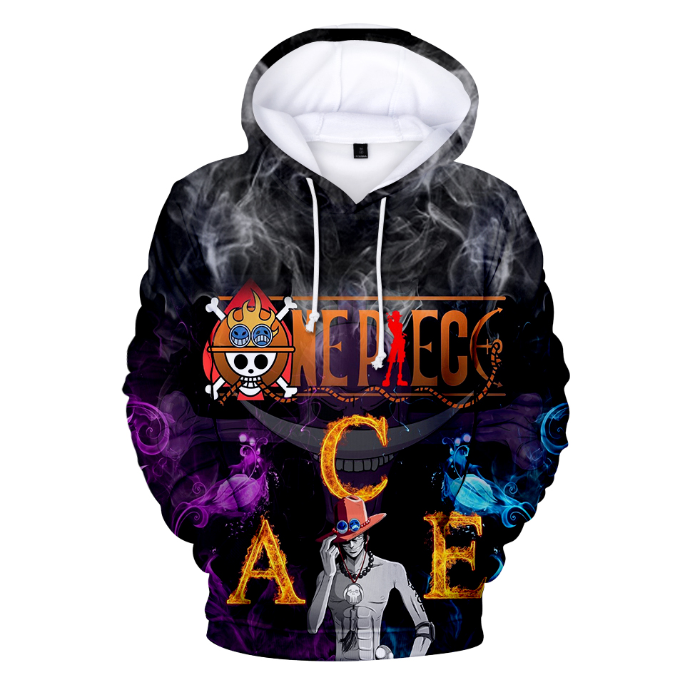 Luffy Jackets Cardigan Tops Anime Hoodies One Piece 3d Printed Hooded Hoodies Sweatshirts For Men Spring Antumn Zipper Monkey D Men's Clothing