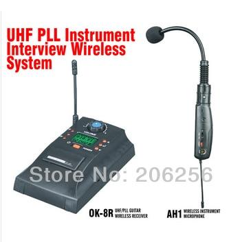 Capace Hot Violino Ah1 Mj-9 Professionale Uhf Pll Strumento Wireless Sistema Microfono Wireless Violino Violino Audio Microfono Senza Fili
