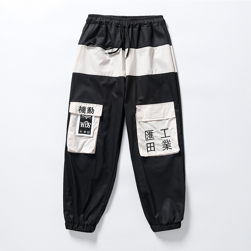 Summer casual pants men's overalls men loose harem casual pants hip-hop national tide pants