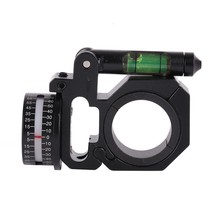Outdoor Hunting Sports Rifle Scopes Angle Indicator With Bubble Level Fit 25.4mm and 30mm Gun Stock Tool Accessories