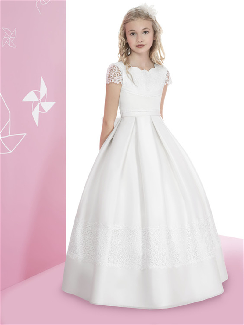long dresses for a wedding 2016 gown lace communion dresses for 5577
