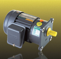 100Watts gear motor 3Phase, 230Vac, 60Hz output shaft 18mm with gearbox ratio is 20 AC induction motor
