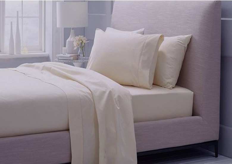 100 egyptian cotton tc bedding set king size beige ivory light grey color 5 - 100 Egyptian Cotton Sheets