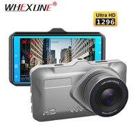 WHEXUNE 3.0IPS Dash Cam ADAS Car DVR Camera 1296P super Night Vision Full HD 1080P Video Recorder autoregistrator 170 degree