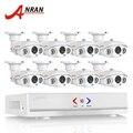 ANRAN 1080N 8-КАНАЛЬНЫЙ HDMI DVR Kit Системы ВИДЕОНАБЛЮДЕНИЯ AHD Камеры 1280*720 P HD 1800TVL ИК-Открытый Дом, видео Камеры Наблюдения