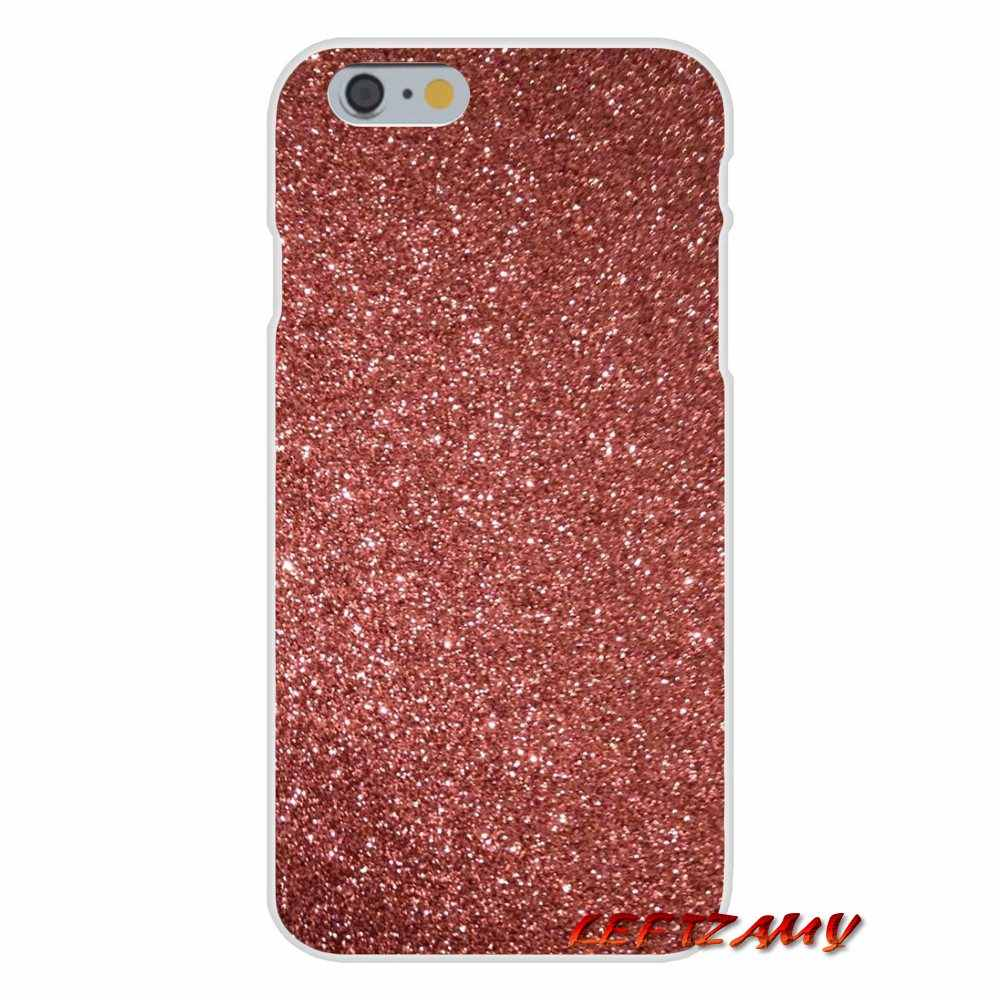 Rose Gold Glitter Sparkles Wallpaper Accessories Phone Cases