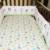 Moonpalace niño 4 unidades cuna bedding set spring garden kids toddler girl crib bedding set encaja todas las cunas estándar cama