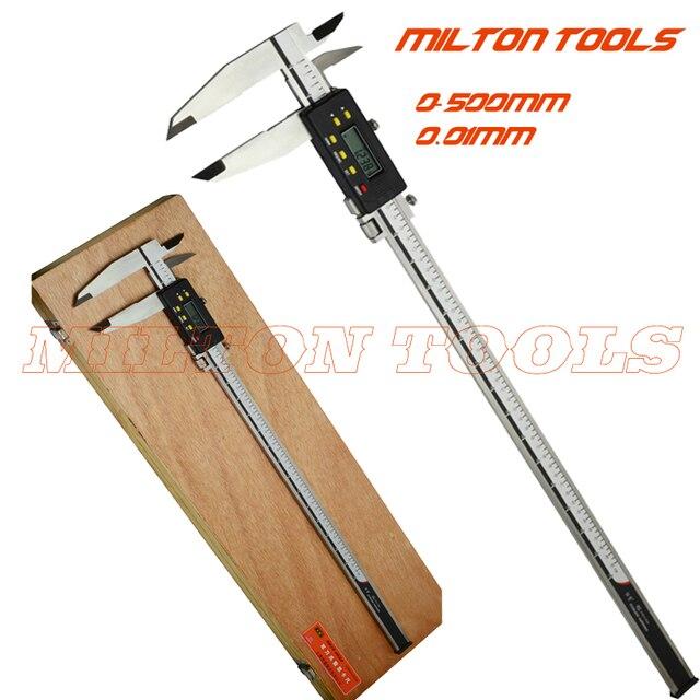 0-500mm Heavy duty Digital Caliper 500mm 20inch Electronic Vernier caliper measuring tools gauge with nib jaws